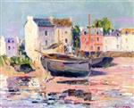 Gustave Loiseau - Bilder Gemälde - Boats Beached in Port