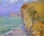 Gustave Loiseau  - Bilder Gemälde - Cliffs at Grainval