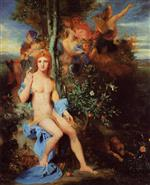Gustave Moreau - Bilder Gemälde - Apollo and the Nine Muses
