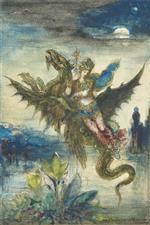 Gustave Moreau - Bilder Gemälde - Dream of the Orient