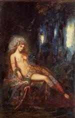 Gustave Moreau - Bilder Gemälde - Goddess on the Rocks