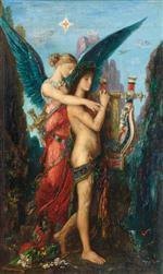 Gustave Moreau - Bilder Gemälde - Hesiod and the Muse