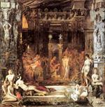 Gustave Moreau  - Bilder Gemälde - The Daughters of Thespius