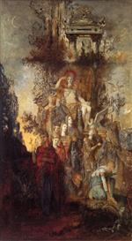 Gustave Moreau  - Bilder Gemälde - The Muses Leaving their Father Apollo to Go Out and Light the World
