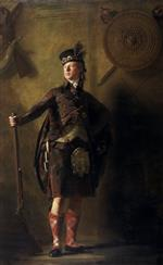 Henry Raeburn - Bilder Gemälde - Colonel Alistair Macdonell of Glengarry