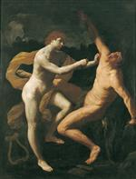 Guido Reni - Bilder Gemälde - Apollo and Marsyas