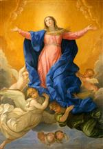 Guido Reni - Bilder Gemälde - Assumption of Mary