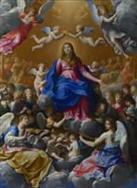 Guido Reni - Bilder Gemälde - Coronation of the Virgin
