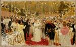 Ilya Efimovich Repin  - Bilder Gemälde - Party for the Aristocracy