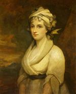 Joshua Reynolds - Bilder Gemälde - An Unknown Lady