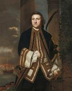 Joshua Reynolds - Bilder Gemälde - Captain Honourable George Edgcumbe