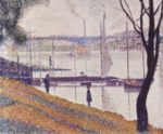 Georges Seurat - paintings - The Brige at Courbevoie