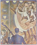 Georges Seurat - paintings - Le Chahut