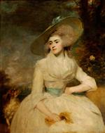 Joshua Reynolds  - Bilder Gemälde - Emma Assheton-Smith, Mrs Robert Scott of Danesfield