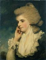 Joshua Reynolds  - Bilder Gemälde - Frances, Countess of Lincoln
