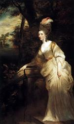 Joshua Reynolds  - Bilder Gemälde - Georgiana Cavendish, Duchess of Devonshire