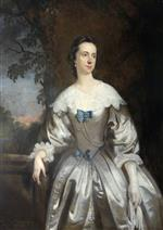 Joshua Reynolds  - Bilder Gemälde - Harriet Eliot, Wife of Richard Eliot