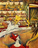Georges Seurat - paintings - Der Zirkus