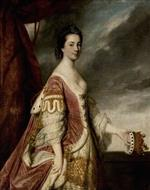 Joshua Reynolds  - Bilder Gemälde - Isabella Hay, Countess of Errol