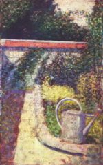 Georges Seurat - paintings - Die Giesskanne