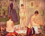 Georges Seurat - paintings - Models