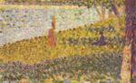 Georges Seurat - paintings - Femmes au bord de l eau