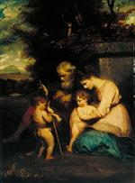 Bild:The Holy Family with the Infant Saint John
