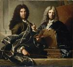 Bild:Charles le Brun and Pierre Mignard