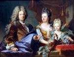 Hyacinthe Francois Rigaud - Bilder Gemälde - Jean le Juge and his Family