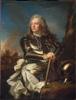 Hyacinthe Francois Rigaud - Bilder Gemälde - Portrait of a Military Officer