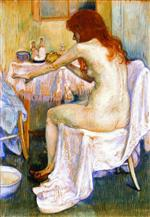 Theo van Rysselberghe - Bilder Gemälde - After the Bath