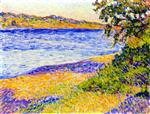 Theo van Rysselberghe - Bilder Gemälde - Banks of the Argens at Saint-Aygulf