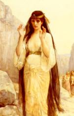 Alexandre Cabanel - paintings - The Doughter of Jephthah