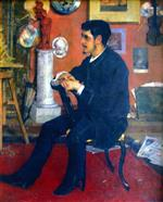 Theo van Rysselberghe  - Bilder Gemälde - Portrait of My Friend Georges