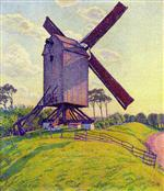 Theo van Rysselberghe  - Bilder Gemälde - The Mill at Kelf