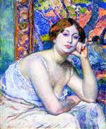 Theo van Rysselberghe  - Bilder Gemälde - The Model