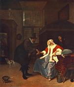 Jan Havicksz Steen  - Bilder Gemälde - Love Sickness