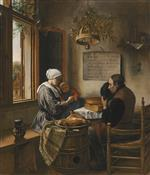 Jan Havicksz Steen  - Bilder Gemälde - Prayer Before the Meal