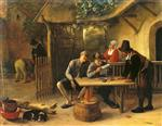 Jan Havicksz Steen  - Bilder Gemälde - The Journal Readers