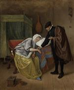Jan Havicksz Steen  - Bilder Gemälde - The Sick Woman