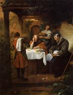 Jan Havicksz Steen  - Bilder Gemälde - The Supper at Emmaus