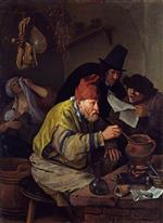 Jan Havicksz Steen  - Bilder Gemälde - The Village Alchemist