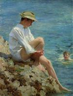 Henry Scott Tuke - Bilder Gemälde - Boys Bathing