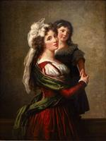 Bild:Madame Rousseau and Her Daughter