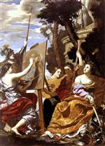 Simon Vouet - Bilder Gemälde - Allegory of Peace