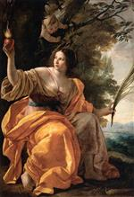 Simon Vouet - Bilder Gemälde - Heavenly Charity