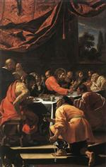 Simon Vouet  - Bilder Gemälde - The Last Supper