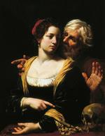 Simon Vouet  - Bilder Gemälde - The Matched Couple