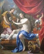 Simon Vouet  - Bilder Gemälde - The Toilette of Venus