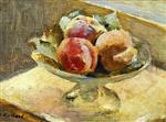 Edouard Vuillard - Bilder Gemälde - A Bowl of Peaches